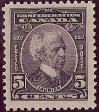 Canada - 1927 5c Laurier VF-NH #144