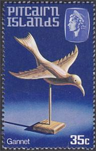 Pitcairn Islands # 196 mnh ~ 35¢ Handicrafts - Bird, Gannet