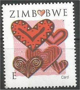 ZIMBABWE, 2008, MNH E, Valentine's Day Scott