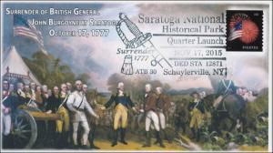2015, Saratoga National Park, 1777 Surrender, pictorial, 15-229