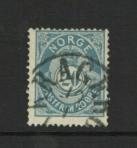 Norway SC# 44b, Used, shallow perf thin - S9373