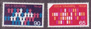 Norway # 547-548, Complete set, Mint NH, 1/2 Cat.