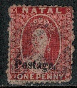Natal 1869 SC 18 Used SCV $110.00