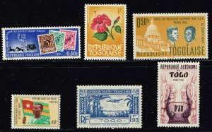 TOGO STAMP COLLECTION LOT #3