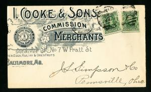 US Backstamped I Cookie & Sons Clean Stamp Cover