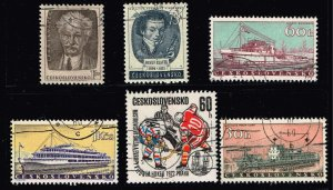 Czechoslovakia USED STAMP COLLECTION LOT #2