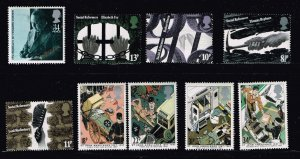 UK STAMP MNH STAMPS COLLECTION LOT  #F4