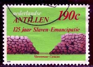 Netherland Antilles; 1988: Sc. # 598: O/Used Single Stamp