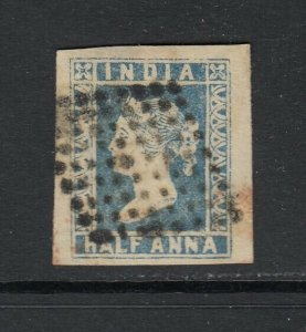 India, Sc 2 (SG 6), used (minute pinhole in margin only)
