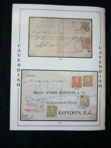 CAVENDISH AUCTION CATALOGUE 1995 ALL WORLD WITH THE 'JOHN SUSSEX' MADEIRA