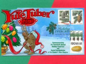 Potatoes?? At Christmas?? POP-UP Yule Tuber FDC w/ DCP Celebrates Spuds!