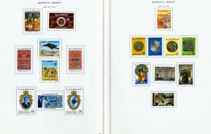 Morocco Stamps Mint Complete Sets & S/S 1975-1995 Loaded