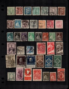 Portugal  39  different mint hinged and used