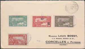 GUADELOUPE 1929 cover Pointe a Pitre to Switzerland.......................46740