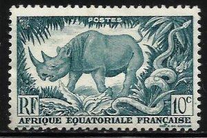 French Equatorial Africa 1946 Scott# 166 MH