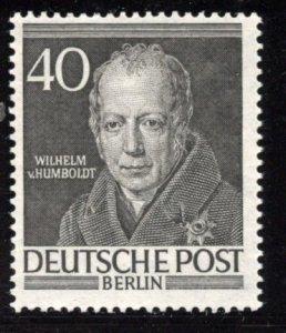 Berlin # 9N93, Mint Hinge. CV $ 6.25