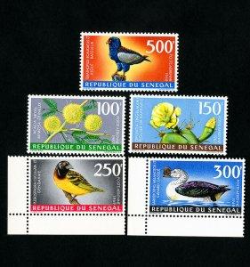 Senegal Stamps # C53-7 XF OG NH Scott Value $46.00