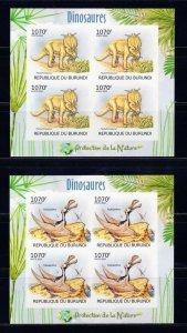 BURUNDI - 2012 Dinosaurs   M2501