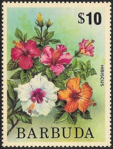 Barbuda # 187 Mint Hinged  [13777]