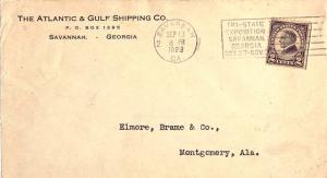 United States Georgia Savannah, Ga. 2 1923 Universal Machine Type Tri-State E...