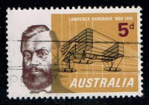 Australia #391 Lawrence Hargrave & Seaplane; used (0.25)