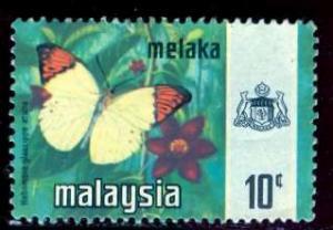 Malaysia, Malacca: 1965: Sc. # 78; O/Used Single Stamp
