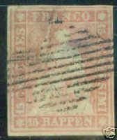Switzerland Scott 33 imperforate 1857 CV $325, the dull p...