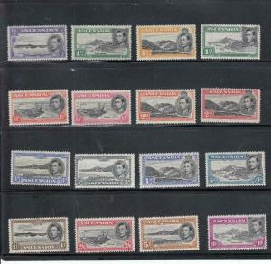 ASCENSION # 40-49 MLH + VARIOUS Perfs NOT COUNTED KGV1 ISSUES TO 10sh CV $200++
