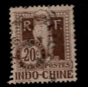 French Indo-China Scott J10 Used postage due stamp