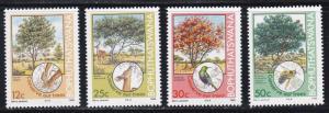 Bophuthatswana # 169-172, Tree Conservation, NH, 1/2 Cat.