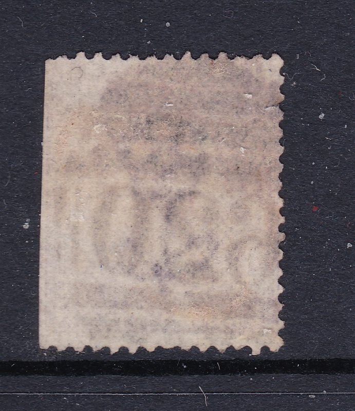 Great Britain a used QV 6d no hyphen plate 8 from 1865