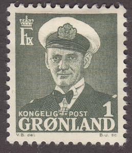 Greenland 28  King Frederik IX 1950