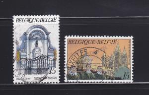 Belgium 1457, 1461 U Tourism
