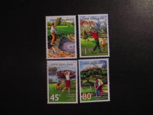New Zealand #1255-58 Mint Never Hinged- (LC9) WDWPhilatelic