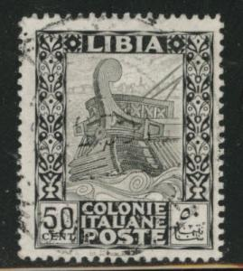 LIBYA Scott 55 used stamp