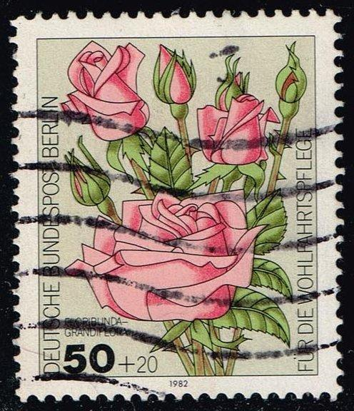 Germany #9NB193 Roses; Used (0.85)
