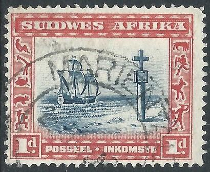 South West Africa, Sc #109a, 1d Used