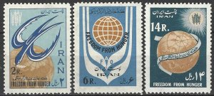 Iran 1240-2  MNH  UN FAO  Freedom From Hunger