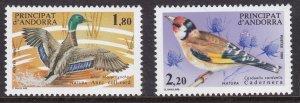Andorra French, Fauna, Birds MNH / 1985