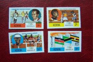 Kenya 1976 MNH Olympic Games Montreal Sc # 60/63