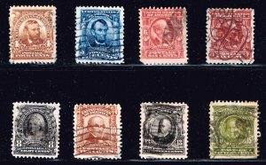 US STAMP Series Of 1903 USED STAMP COLLECTION LOT