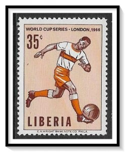 Liberia #446 Soccer Championship MNH