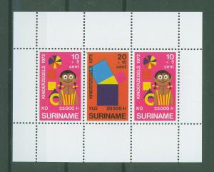 SURINAM/SURINAME 1972 MNH SC.B187/89 Child Welfare