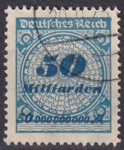 Germany #299 F-VF Used CV $35.00  (A18522)