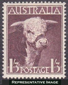 Australia SC#211 1948 Hereford Bull MNH