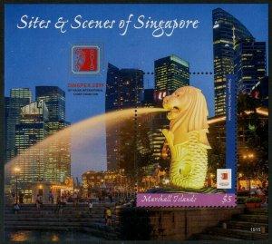 HERRICKSTAMP NEW ISSUES MARSHALL ISLAND Singpex 2019 Singapore S/S