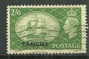 1950-1 British Offices in Morocco 556 HMS Victory & KGVI used