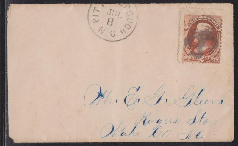 Super Scarce ANGEL Cancel on Cover With Sc#157 from the 1870's