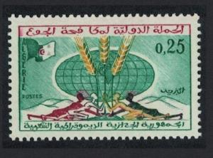 Algeria Freedom from Hunger 1v SG#409
