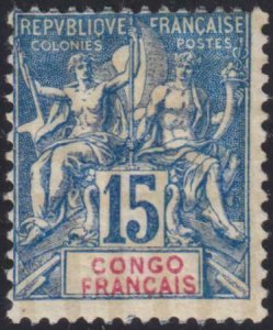 French Congo 1892 SC 24 Mint